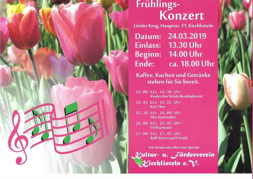 Ankündigung Frühlings-Konzert